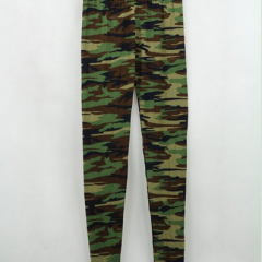 Army Camouflage Woman Leggings