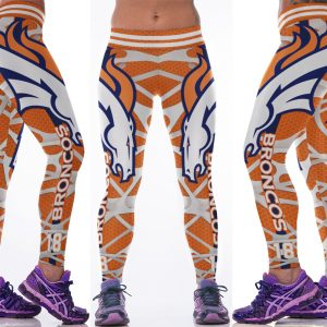 High Waist 3D Football Team Print Sporting Leggings