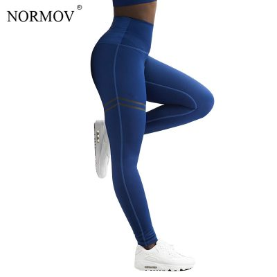 High Waist Fitness Leggings, Women's Patchwork Workout Legging, Stretch Sportswear
