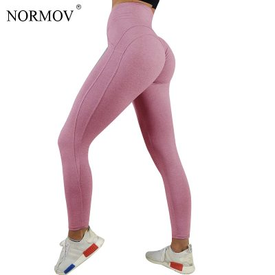 Sexy Push Up Leggings, Women's Workout Clothing, Heart High Waist Leggings, Female Breathable Patchwork Jeggings