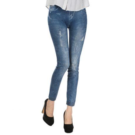 Comfortable Skinny Pants Denim Legins Women Fashion Sexy Women Jean Skinny Leggings Stretchy Slim Leggings 2