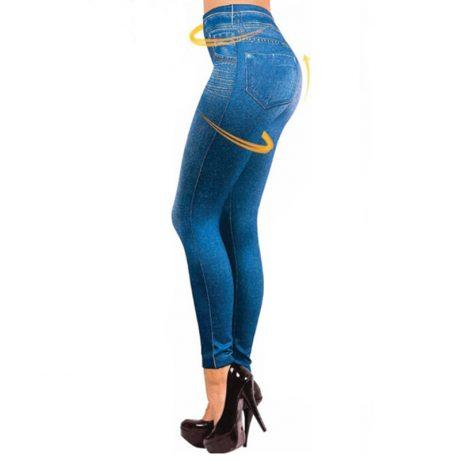 Leggings Jeans, Women's Denim Pants, Pocket Leggings