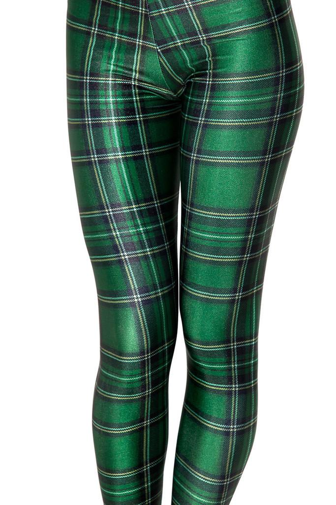 f9638651e1fbe Plaid Women's Sexy Slim Leggings,Large Sizes, Plaid Full Length ...