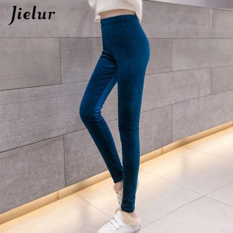 New Velour Thin Women's Leggings, Solid Color, High Waist Fashion Leggings 5