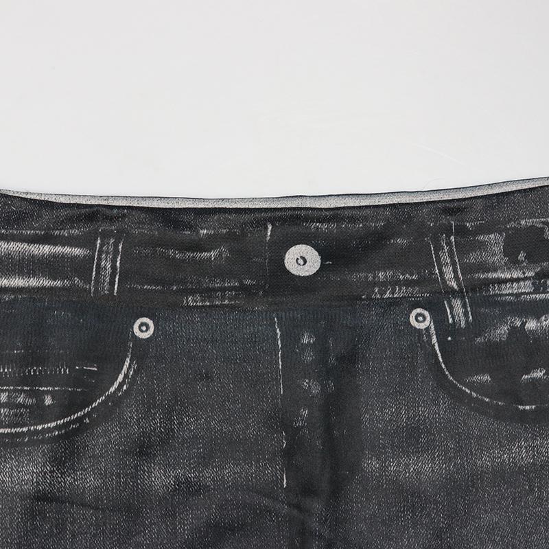 Leggings Jeans, Women's Denim Pants, Pocket Leggings 14
