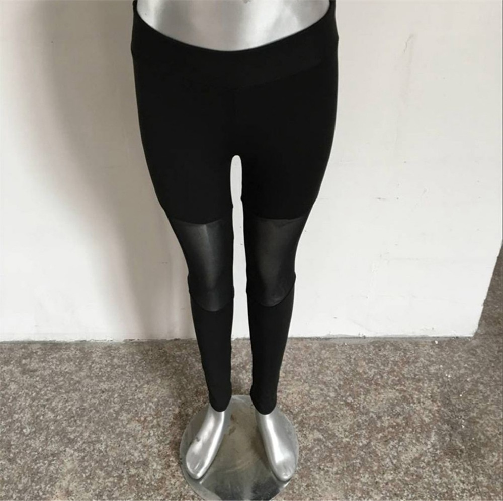 Casual Leggings Women Fitness Leggings Color Block Workout Pants New Arrival Mesh Insert Leggings 20