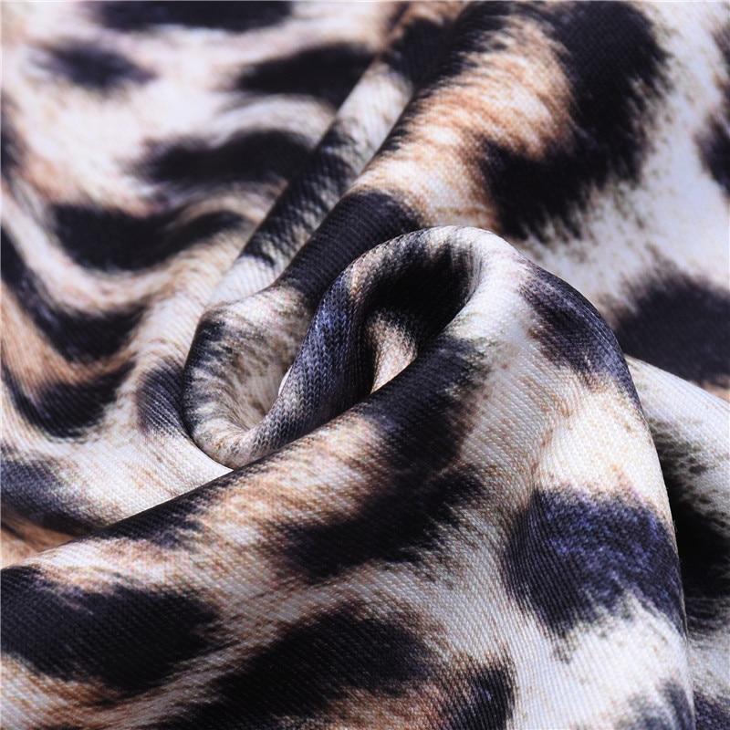 High Waist Leopard Leggings, Women's Casual Legging 20