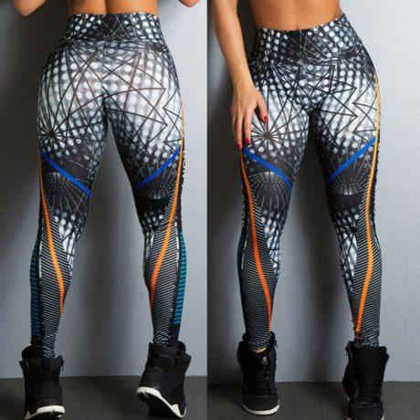 Streetwear Style, Sexy Leggings, Women's Fitness Leggings, High Waist, Elastic Push Up Workout Pants 1