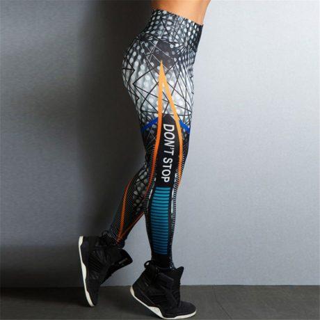 Streetwear Style, Sexy Leggings, Women's Fitness Leggings, High Waist, Elastic Push Up Workout Pants