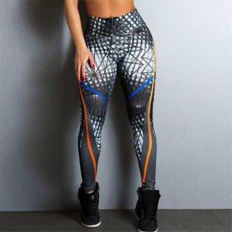 Streetwear Style, Sexy Leggings, Women's Fitness Leggings, High Waist, Elastic Push Up Workout Pants 4