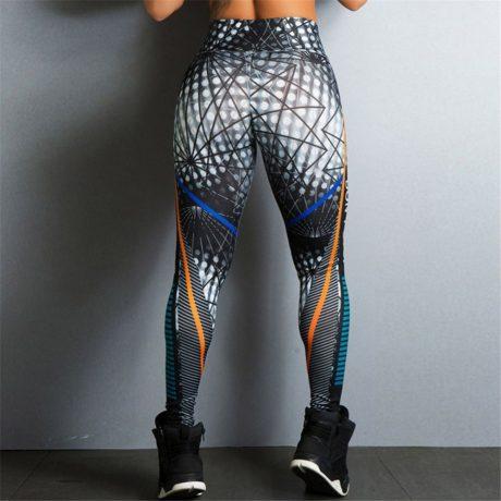 Streetwear Style, Sexy Leggings, Women's Fitness Leggings, High Waist, Elastic Push Up Workout Pants 3