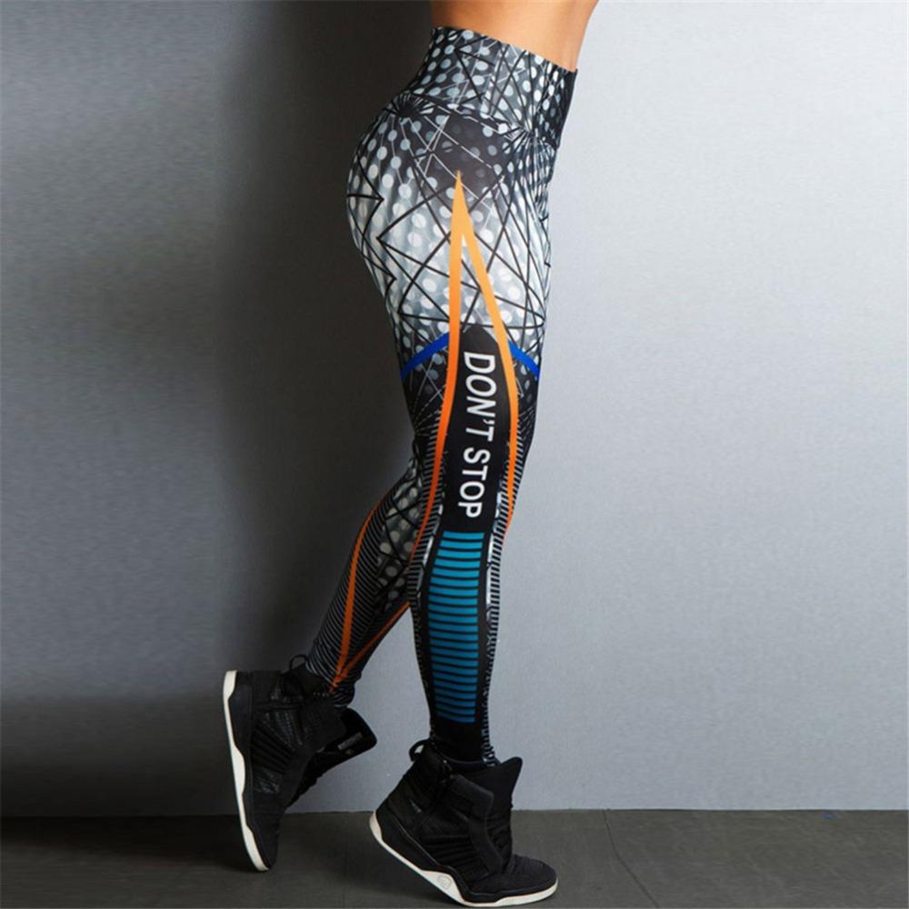 Streetwear Style, Sexy Leggings, Women's Fitness Leggings, High Waist, Elastic Push Up Workout Pants 13