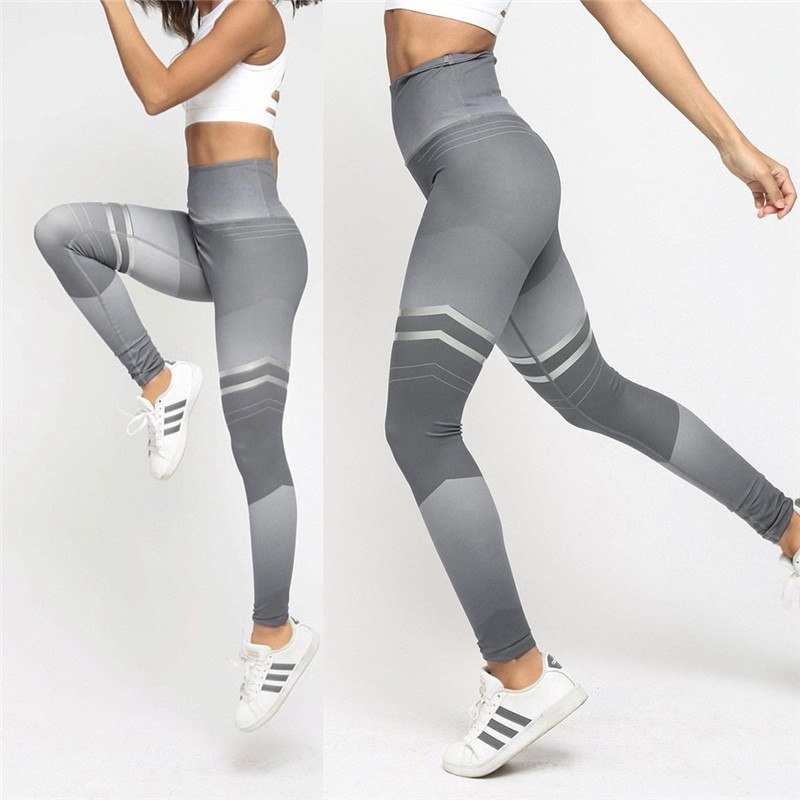 Women's Fitness Clothing, Mesh High Waist Leggings, Female Breathable Patchwork Sportswear 13