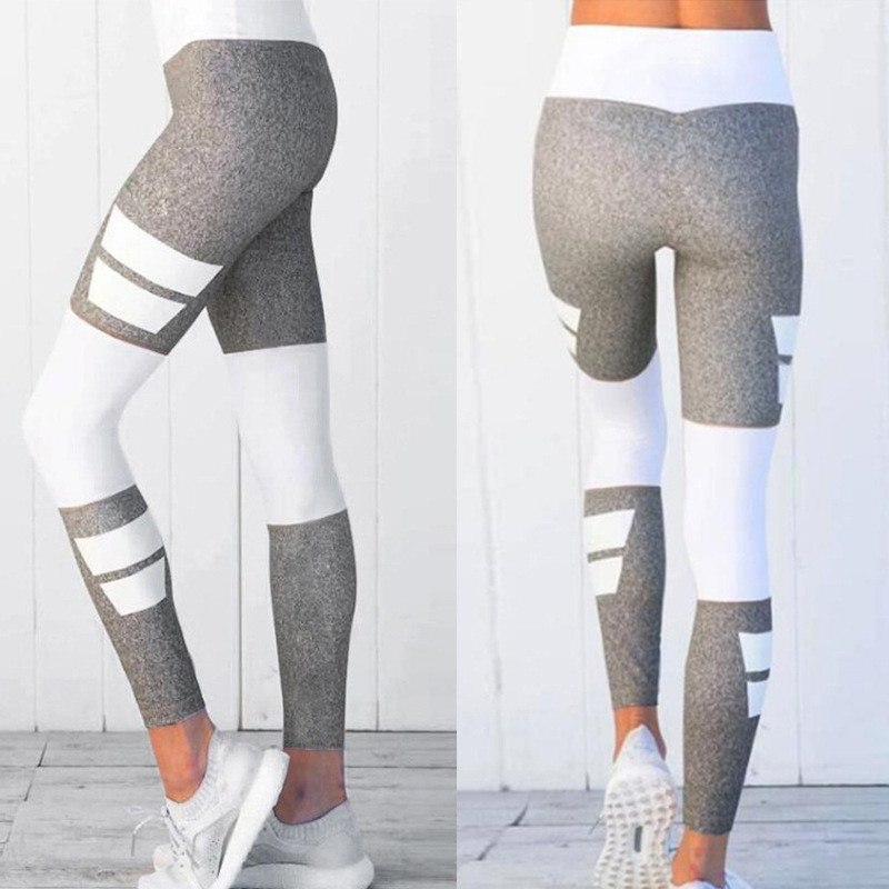 Women's Fitness Clothing, Mesh High Waist Leggings, Female Breathable Patchwork Sportswear 16